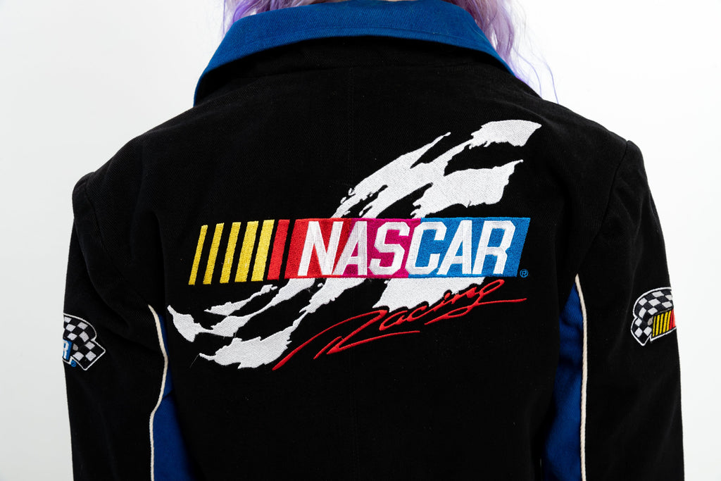 90's-00's, Vintage,NASCAR RACING Jacket by JH Design, Women's Medium