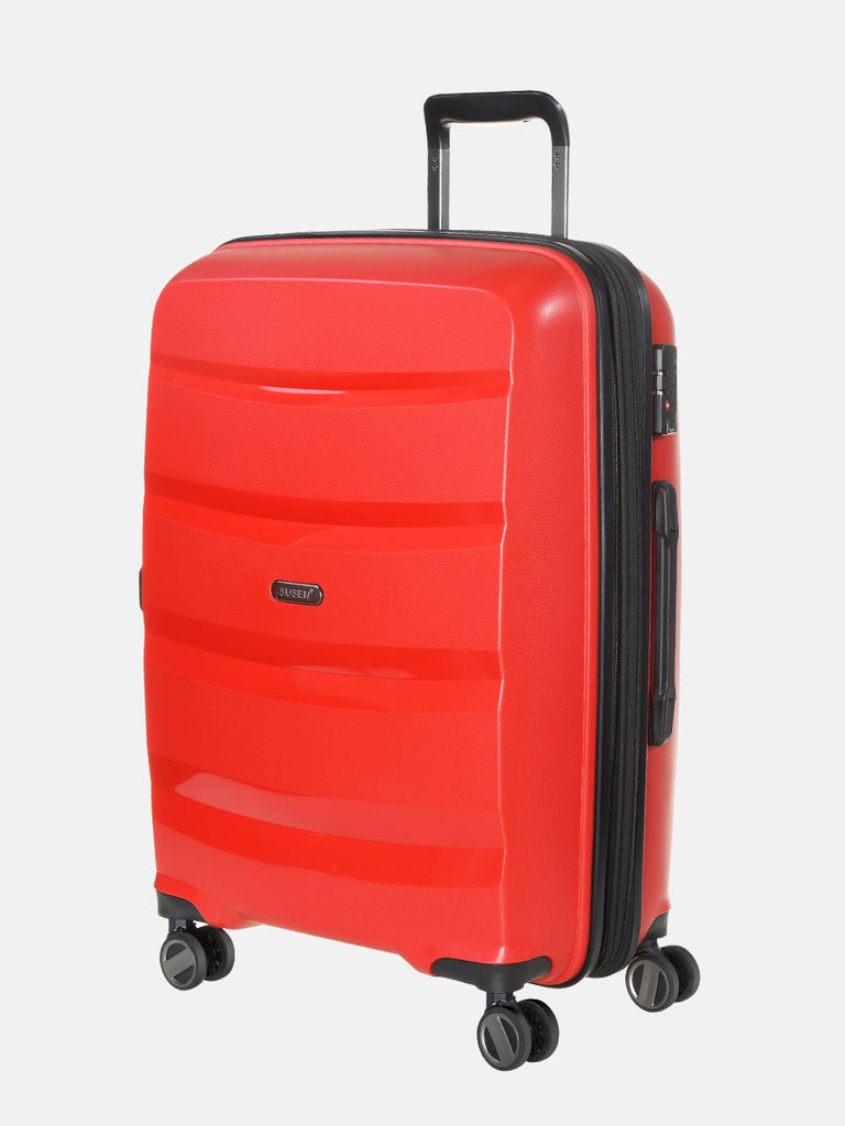 SUSEN 20'' Small Suitcase Red | SUSEN-www.susen.com