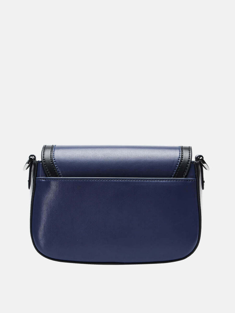 SUSEN Ladies Medium Crossbody Shoulder Bag Blue|SUSEN-www.susen.com