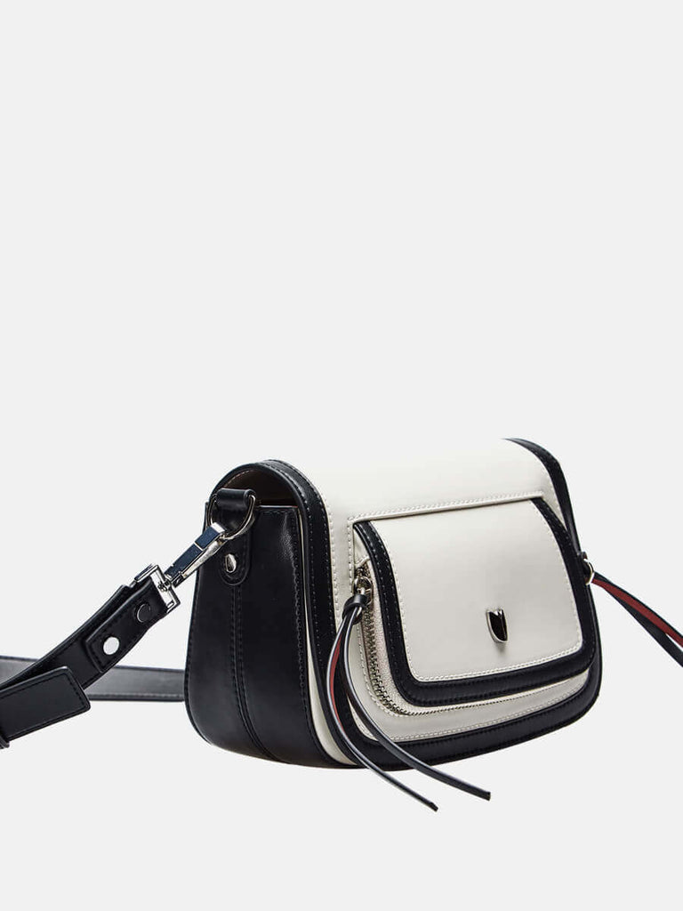 SUSEN Ladies Medium Crossbody Shoulder Bag Black|SUSEN-www.susen.com