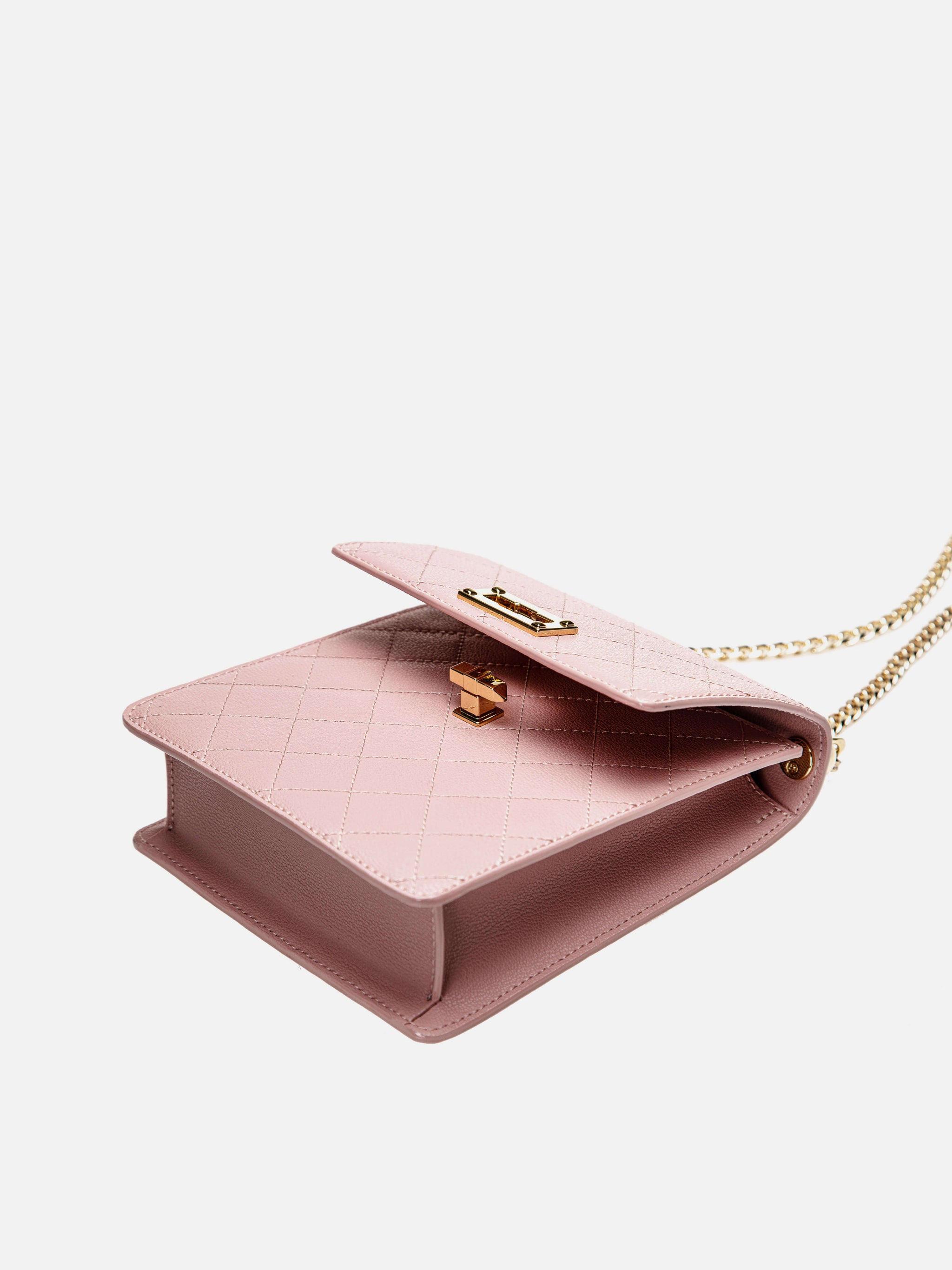 Mini Pearl Flip Bag - Pink
