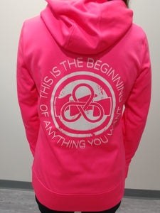 AWG Women's Beginning Button hoody