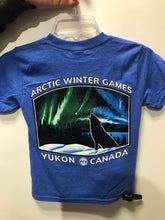 Load image into Gallery viewer, AWG Youth Northern Lights T-shirt