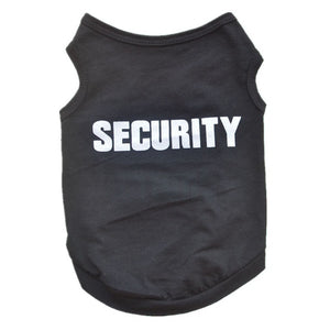 Security Clothes Pets Cat and Dog