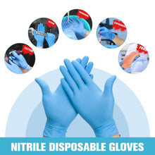 Nitrile Disposable Safety Gloves Wear Resistance Chemical Laboratory
