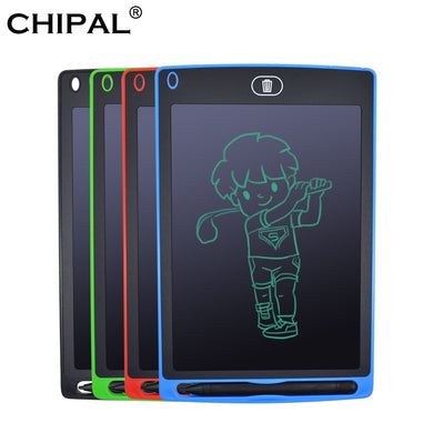 CHIPAL 8.5 inch LCD Writing Tablet Digital Graphic Drawing Tablets eWriter Electronic Handwriting Board + Pen / Battery for Kids