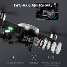 F8 GPS Drone with Two axis anti shake Self stabilizing gimbal-