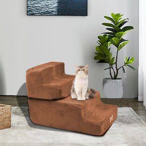 High density Sponge Pet Stair Washable Zipper Mesh Microfiber Cover