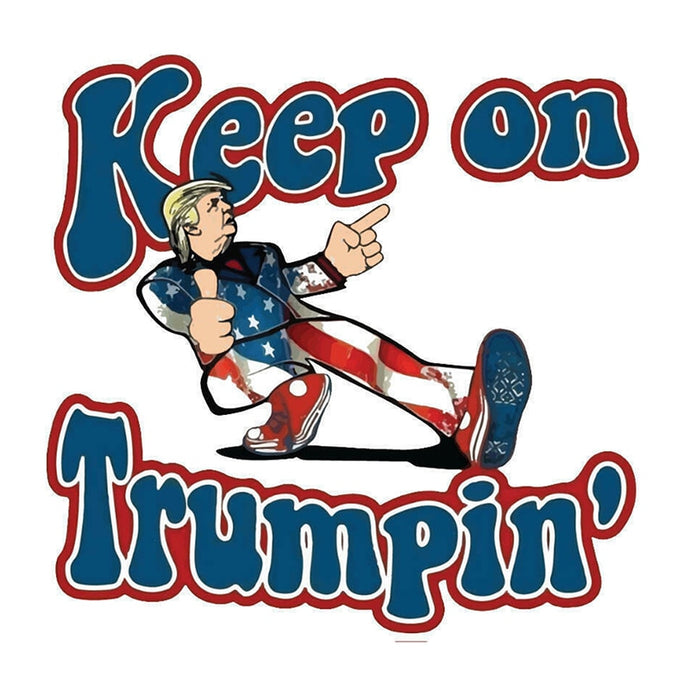 Keep On Trumpin Donald Trump Make America Great Again Sticker Decoration Presidential Election|Wall Stickers