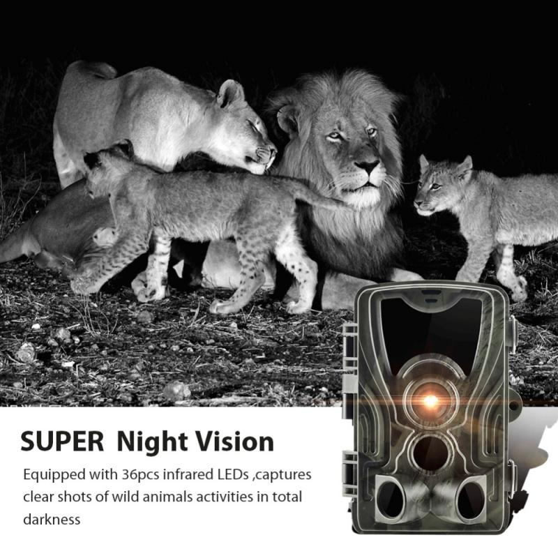 New 9 Button Professional Hunting Camera Night Version Trail Infrared