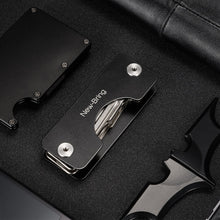 Key Wallets Aluminum Metallic EDC Men Car Key Holder Smart Housekeeper Keys Organizer Keychain Bag Purse