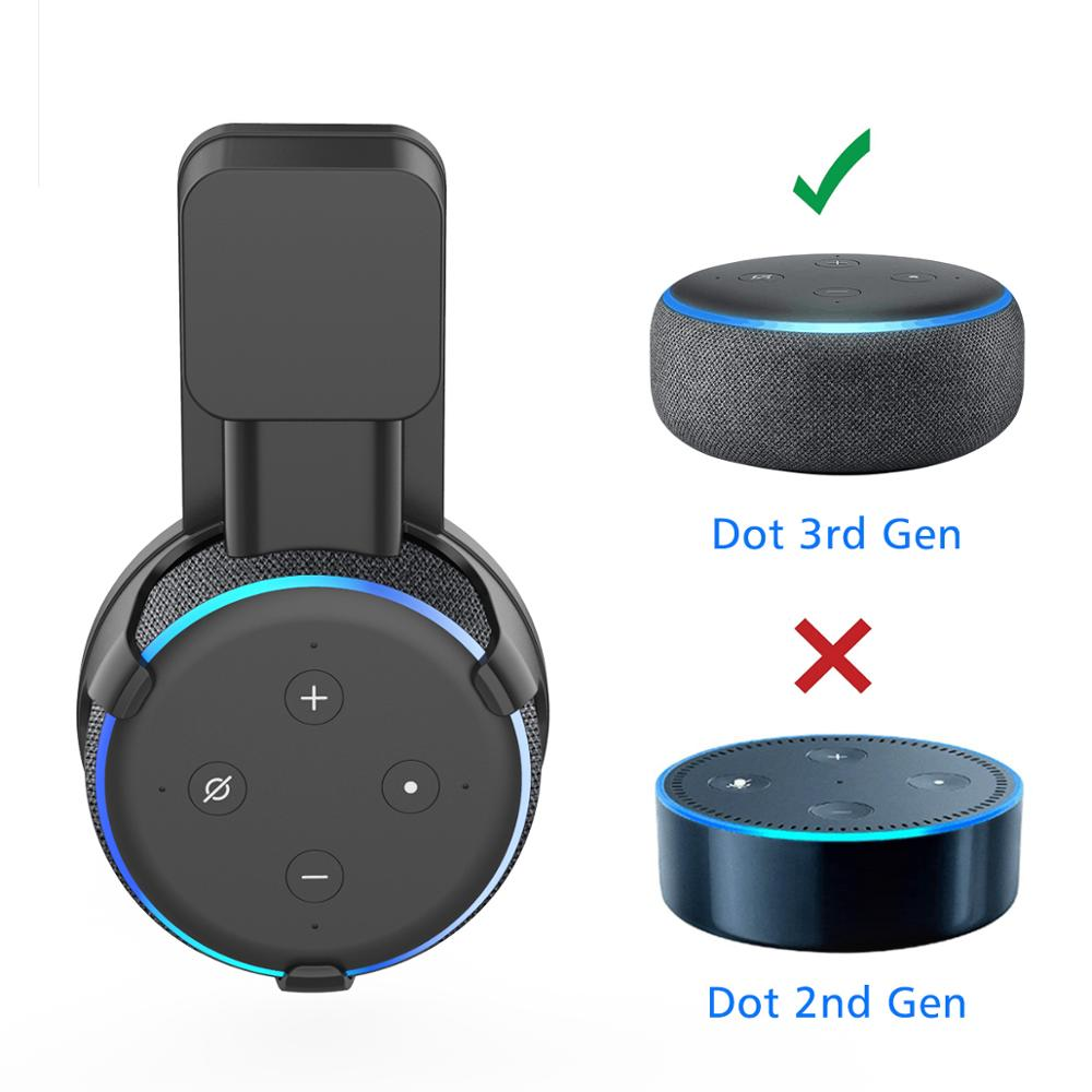 Amazon Echo Dot Wall Mount (Device not Included)