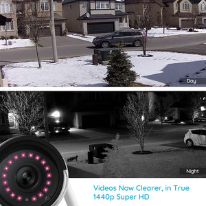 HD IP Cam Wireless Weatherproof Security Night Vision Camera