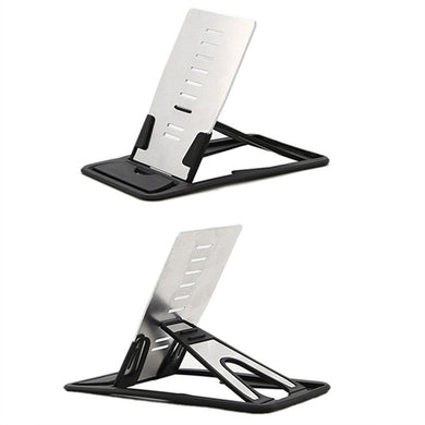 SMARTPHONE STAND FOR TRAVEL Multi Angle Adjustable Foldable Cradle Portable Mini Desk Stand Fold up Smartphone