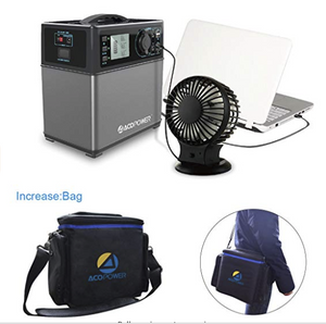 Portable Power 400Wh  Solar Generator