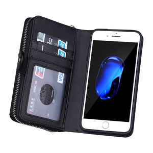 Leather, Zipper Cover & Wallet for Your Mobile Phone