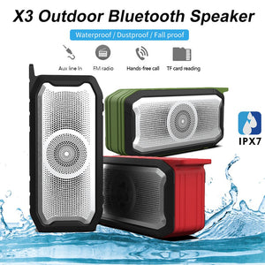 best selling 2020 products Outdoor Wireless Bluetooth 5.0 HD Sound Quality Music Waterproof IPX7 Speaker support dropshipping on AliExpress
