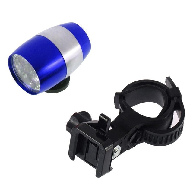 Waterproof Ultra Bright 6 LED Bicycle Bike Front White Head Light