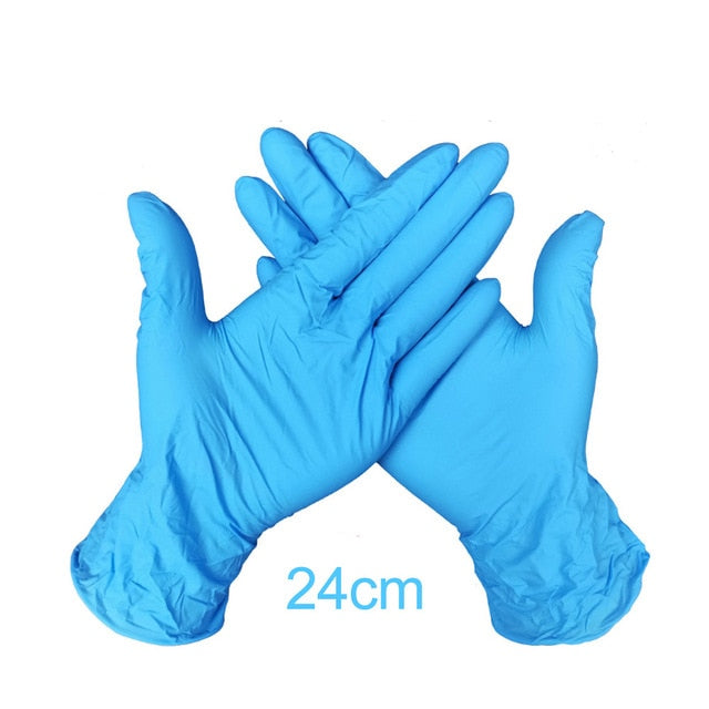 Wear Resistant Durable Nitrile Disposable Gloves Rubber Latex Food Medical Household Cleaning Glove