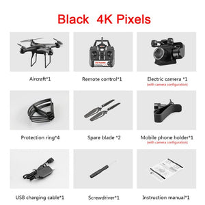 Professional Drone with 4K Rotating ESC Camera HD WiFi FPV Altitude Hold Wide Angle RC Quadcopter Helicopter S32T Toy VS XY4 E58 on AliExpress
