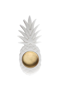Small marble ashtray with pineapple shape