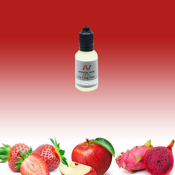 Liu Tang is a candy fruit e juice with flavors of blueberry, raspberry, dragonfruit & strawberry. This e liquid is made by American Vapor Group/Red Star Vapor in bottle sizes of 30ml, 60ml or 120ml. Nicotine strength options are 0%, 3%, 6% or 12%