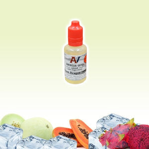 Frost Dragon Salt Nic is a fruity salt nicotine e juice with flavors of dragon fruit & papaya & menthol. This e liquid is made by American Vapor Group & Red Star Vapor in bottles of 30ml. Nicotine strength is 24mg.