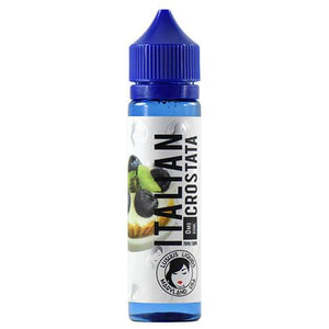 Italian Crostata is a fruity cream dessert e juice with flavors of butter, frolla, pastry crust, cream, blueberries & kiwi. This e liquid is made by Lushus Liquids in bottle sizes of 60ml or 120ml. Nicotine strength options are 0%, 3% or 6%.