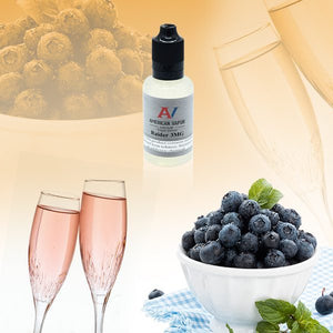 Raider is a fruity drink e juice sold by BusyVaper.com with flavors of pink champagne, raspberry, blueberry & cotton candy. This e liquid is made by American Vapor Group/Red Star Vapor in bottle sizes of 30ml, 60ml or 120ml. Nicotine strength options are 0%, 3%, 6% or 12%.