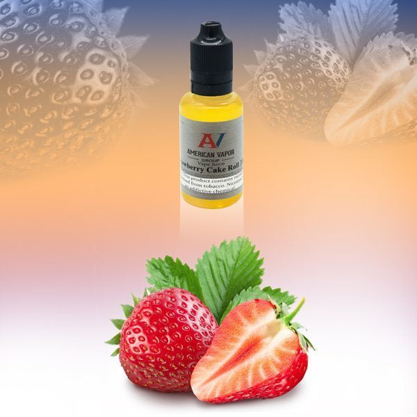 Strawberry Cake Roll is a creamy fruit dessert e juice sold by busyvaper.com. This e liquid is made by American Vapor Group/Red Star Vapor with flavors of strawberry, cream & cake flavors in bottle sizes of 30ml, 60ml or 120ml. Nicotine strength options are 0%, 3%, 6% or 12%.