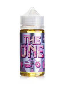 The One Blueberry is a fruity candy e juice with flavors of frosted blueberry donut with a bit of milk. This e liquid is made by Beard Vape Co in bottle sizes of 100ml or 200ml chubby gorilla bottles. Nicotine strength options are 0%, 3% or 6%.