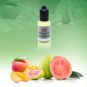 The Tropics is a fruity e juice with flavors of mango, tangerine, papaya, guava & lychee. This e liquid is made by American Vapor Group/Red Star Vapor in bottle size options of 60ml or 120ml. Nicotine strength options are 0%, 3%, 6% or 12%.