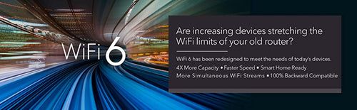 ARE INCREASING DEVICES STRETCHING THE WIFI LIMITS OF YOUR OLD ROUTER?