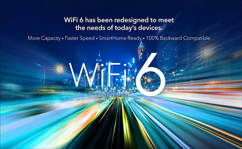 WIFI 6 HAS BEEN REDESIGNED TO MEET THE NEEDS OF TODAY'S DEVICES