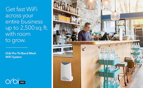 GET FAST WIFI ACROSS YOUR ENTIRE BUSINESS UP TO 2,500 sq. ft. WITH ROOM TO GROW.