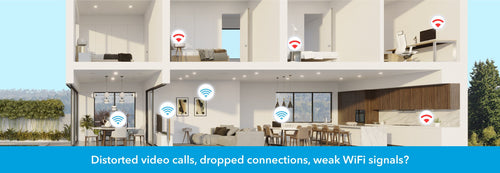 Orbi WiFi mesh systems provide relief from distorted video calls, dropped wireless connections or weak signals in certain parts of the home