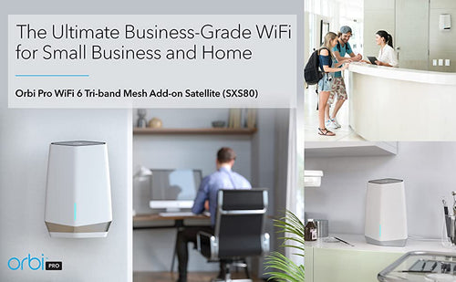 THE ULTIMATE BUSINESS-GRADE WIFI FOR SMALL BUSINESS AND HOME