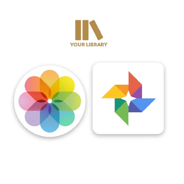 Supports Apple & Google Photo Albums and 4K Photos & 15 Sec Videos