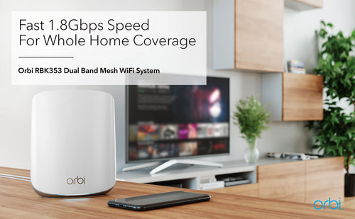 FAST 1.8Gbps SPED FOR WHOLE HOME COVERAGE