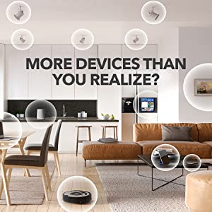 Smart Connect up to 45 Devices