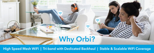High speed mesh wifi with dedicated backhaul provides a stable and scalable wifi solution, futureproof for your home and your wifi needs