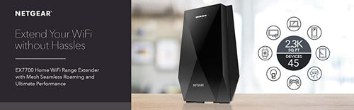NETGEAR. EXTEND YOUR WIFI WITHOUT HASSLES