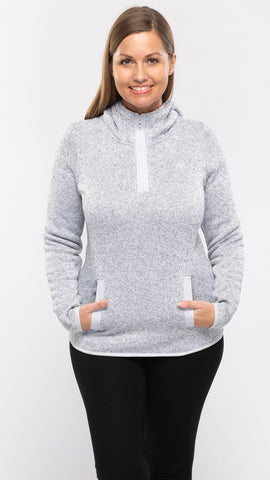 Ladies Knit Hoody - 14pcs/pack ($9.60 each)