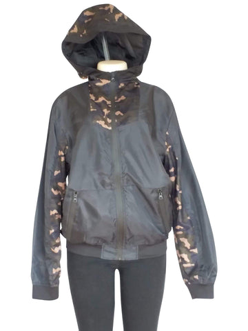 Mens Camo Windbreaker With Hood - 10pcs/pack ($9 each)