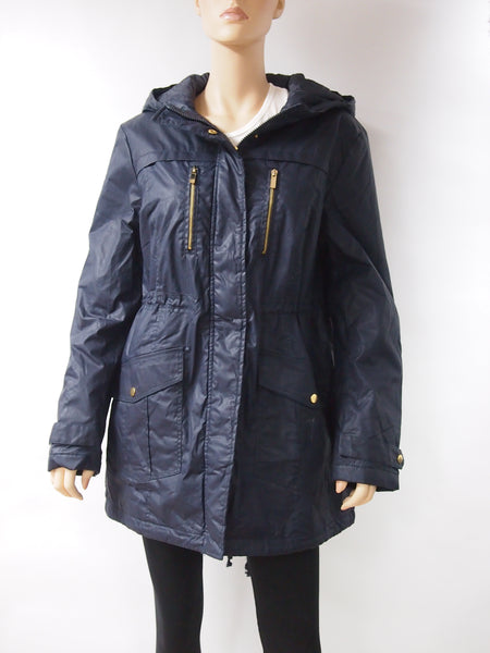 Women Navy 3/4 Coat - 13pcs/pack ($16.40 each)