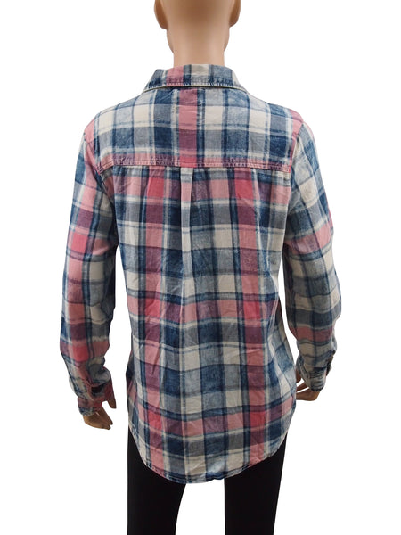 Ladies Plaid Shirt - 26pcs/pack ($6.30 each)