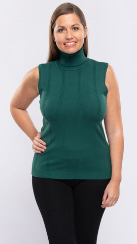 Ladies Knit Sleeveless Top - 12pcs/pack ($10.90 each)