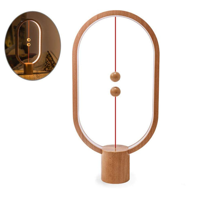 Balance Lamp - Brown-UXORIOUS