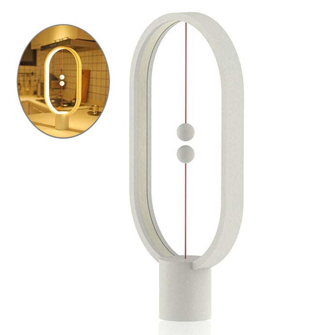 Balance Lamp - White-UXORIOUS