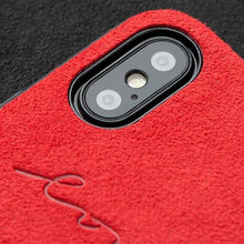 Load image into Gallery viewer, Alcantara iPhone 7/8 Case - Special Red Edition-UXORIOUS